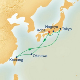 Japan and Taiwan (from Kobe) Princess Cruises Cruise