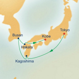 Kyushu and Korea Princess Cruises Cruise