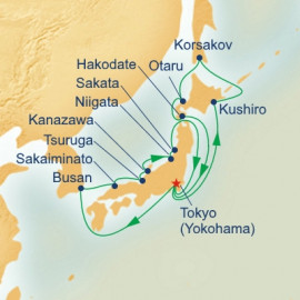 Circle Hokkaido and Sea of Japan Princess Cruises Cruise