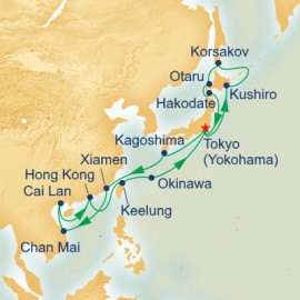 Southeast Asia and Circle Hokkaido Princess Cruises Cruise
