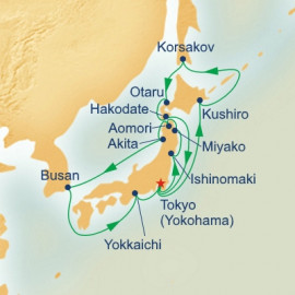 Circle Hokkaido and Northern Japan Princess Cruises Cruise