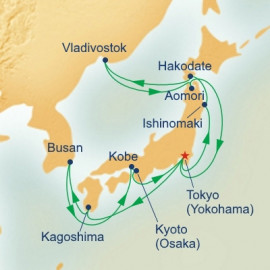 Grand Japan with Gion Tenjin and Nebuta Festival Itinerary