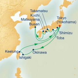 Shikoku and Southern Islands Princess Cruises Cruise