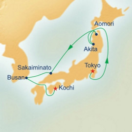 Circle Japan with Nebuta and Summer Festivals Itinerary