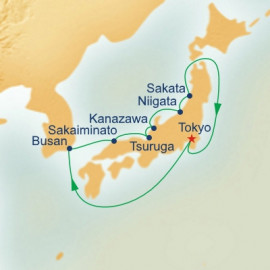 Sea of Japan Princess Cruises Cruise
