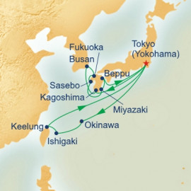 Southern Islands and Kyushu Princess Cruises Cruise