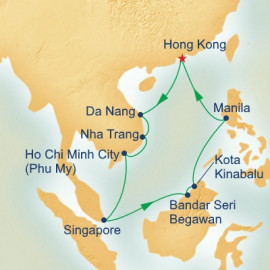 Vietnam and Borneo Princess Cruises Cruise