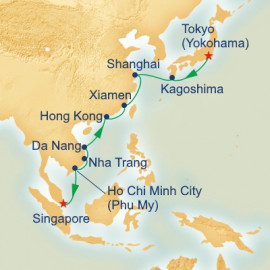 China and Vietnam Princess Cruises Cruise