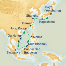 China Vietnam and Borneo Princess Cruises Cruise