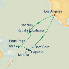 Hawaii Tahiti and Samoa Princess Cruises Cruise