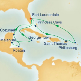 Caribbean Adventurer Itinerary