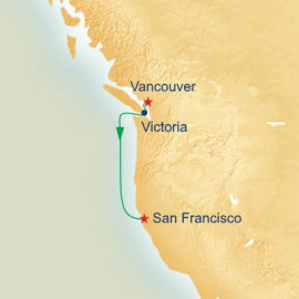 Pacific Coastal Princess Cruises Cruise