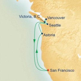 West Coast Princess Cruises Cruise