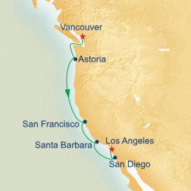 Pacific Wine Country Princess Cruises Cruise