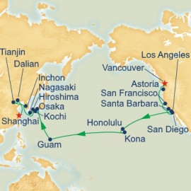 Hawaii Guam and East Asia Pacific Crossing Princess Cruises Cruise