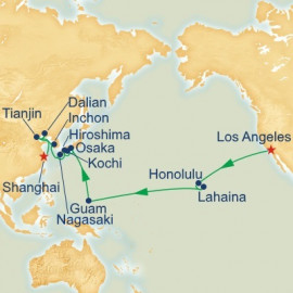 Pacific Crossing and Asia Princess Cruises Cruise