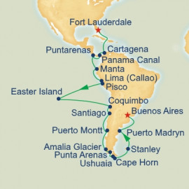 Andes and Cape Horn Grand Adventure Princess Cruises Cruise