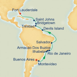 Brazilian Adventure Princess Cruises Cruise