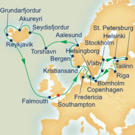 Scandinavia Russia and Iceland Adventure Princess Cruises Cruise