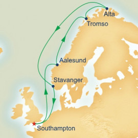 Search for the Northern Lights Princess Cruises Cruise