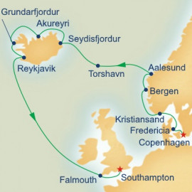 Icelandic and Norwegian Fjords Princess Cruises Cruise