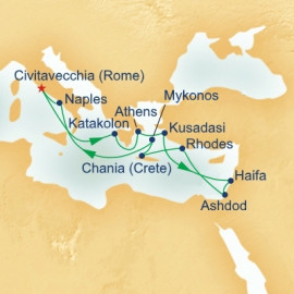 Mediterranean and Israel Princess Cruises Cruise