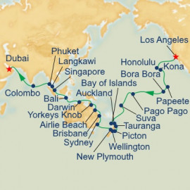 World Cruise Liner - South Pacific and Indian Ocean Princess Cruises Cruise