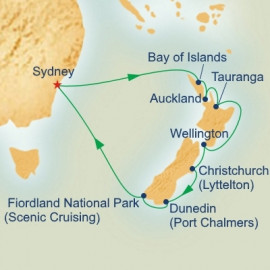Christmas and New Year in New Zealand Itinerary