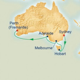 Southern Australia Discovery Itinerary
