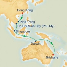 Hong Kong to Brisbane Princess Cruises Cruise