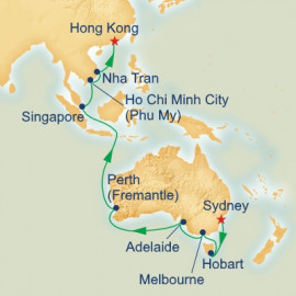 Sydney to Hong Kong Princess Cruises Cruise