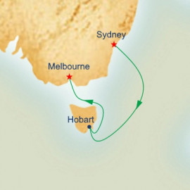 Sydney to Melbourne Princess Cruises Cruise