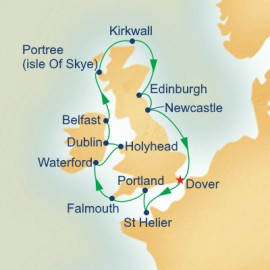 Ireland Scottish Highlands and Wales Princess Cruises Cruise