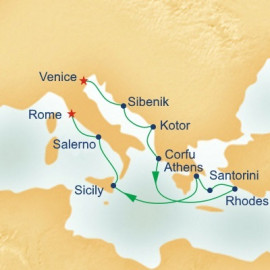 Greek Isles Connoisseur Princess Cruises Cruise