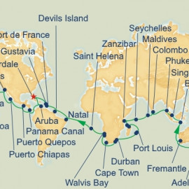 World Cruise Princess Cruises Cruise
