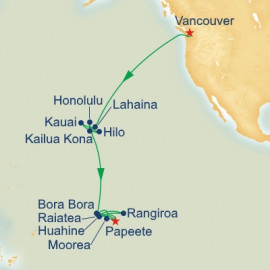Hawaii and Tahiti Grand Adventure Princess Cruises Cruise