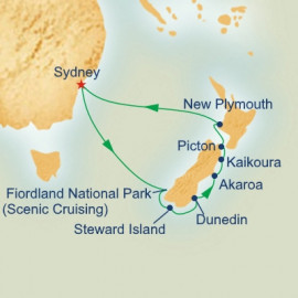 New Zealand Connoisseur Princess Cruises Cruise