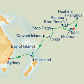 Tahiti and South Pacific Grand Adventure Itinerary