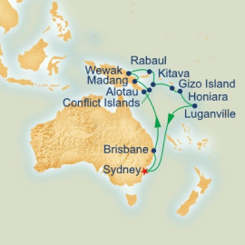 Papua New Guinea and Solomon Islands Princess Cruises Cruise