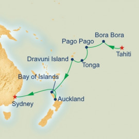 South Pacific and New Zealand Princess Cruises Cruise