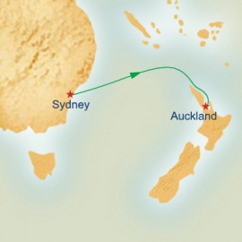 Sydney to Auckland Princess Cruises Cruise