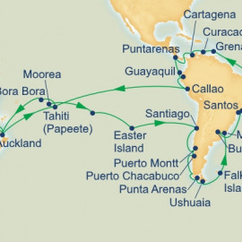 Circle South America Princess Cruises Cruise