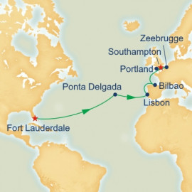 Western Europe Passage Princess Cruises Cruise