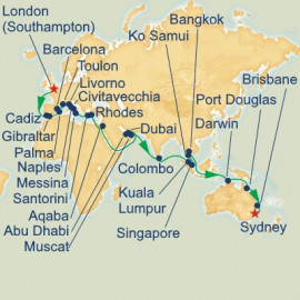 London to Sydney Itinerary