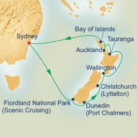 Christmas in New Zealand Princess Cruises Cruise