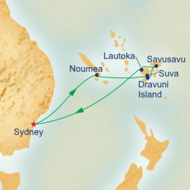 South Pacific New Year Princess Cruises Cruise