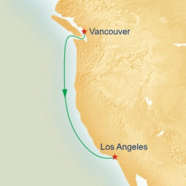 Vancouver to Los Angeles Princess Cruises Cruise