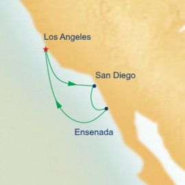 West Coast Getaway with San Diego Princess Cruises Cruise