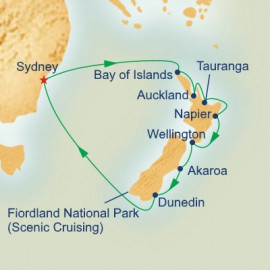 New Zealand Itinerary