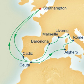 Mediterranean Adventurer Princess Cruises Cruise